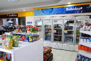 Aumento de produtividade em abertura de lojas de conveniência franqueadas