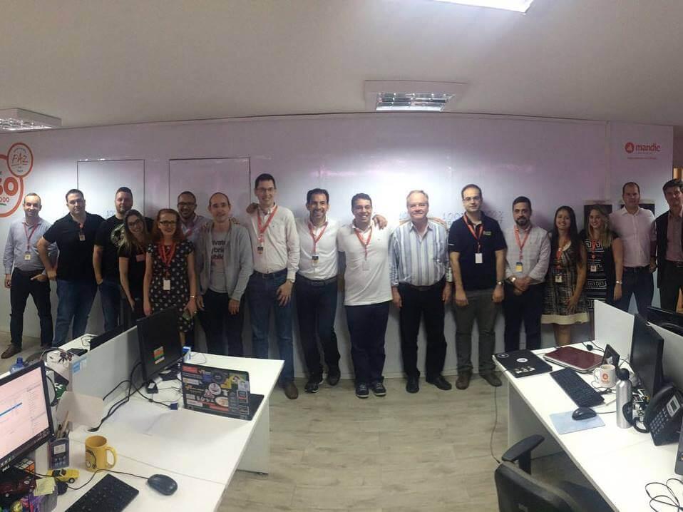 Equipe do Projeto ISO 20000 Mandic